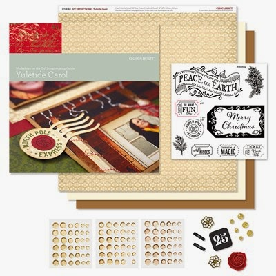 YULETIDE SCRAPBOOKING KIT