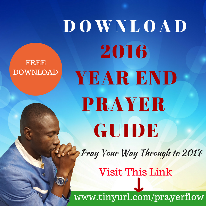 YEAR END PRAYER GUIDE