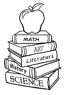 Dibujos Dia del Estudiante para Pintar, parte 2