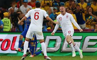 أهداف مباراة انجلترا واوكرانيا 1-0 في بطولة اليورو 19-6-2012