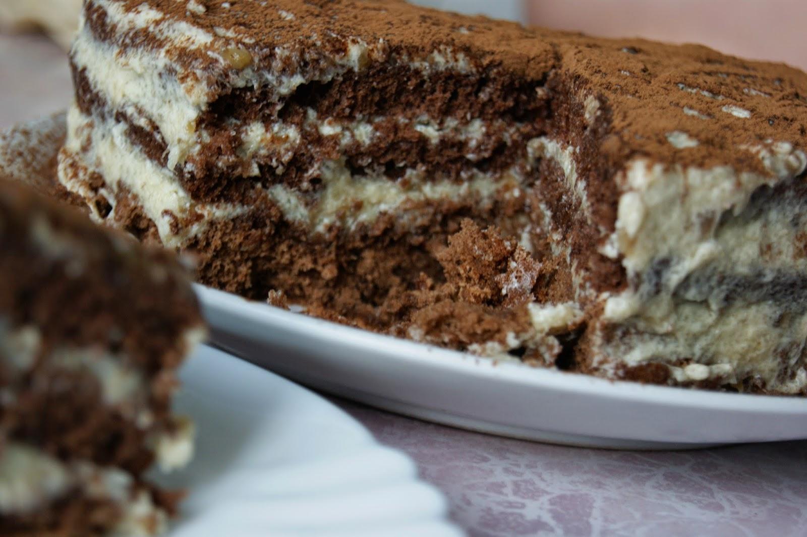 торт с манным кремом рецепт