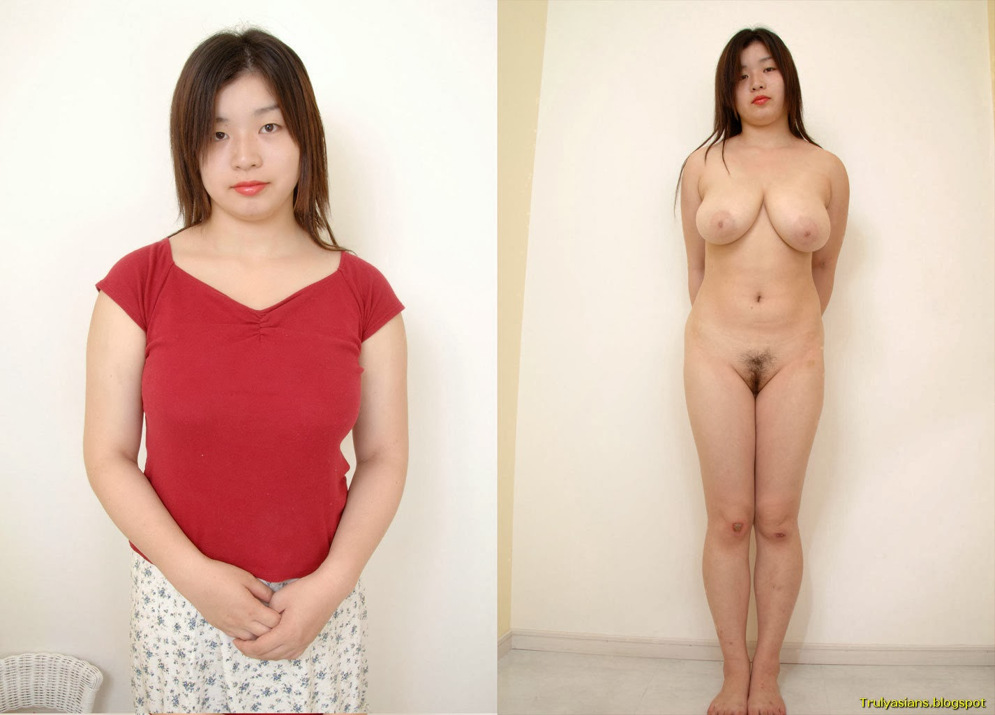 Chinese dressed undressed
