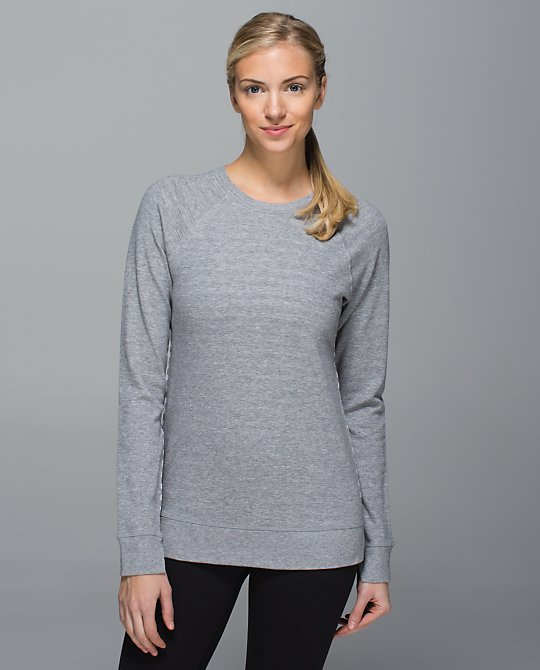 lululemon open your heart ls