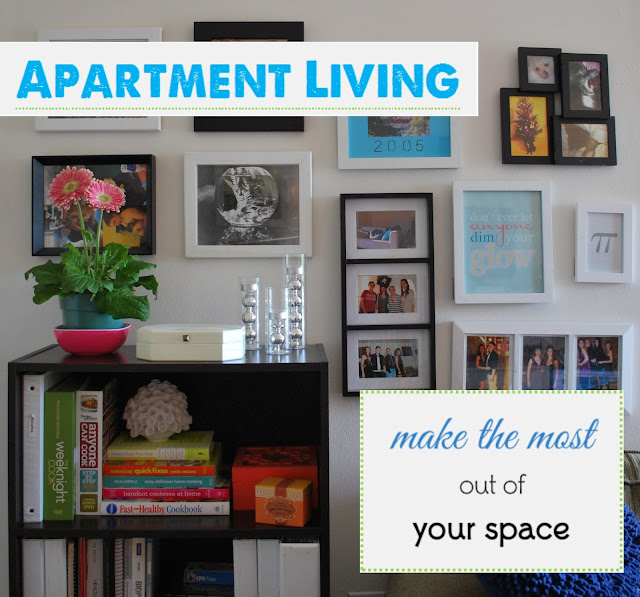 Apartment Living Series by labelmeorganized.blogspot.com