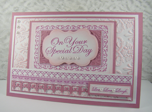 stamps Lace Borders Baroque Nested Frames Wedding Nested Sentiments