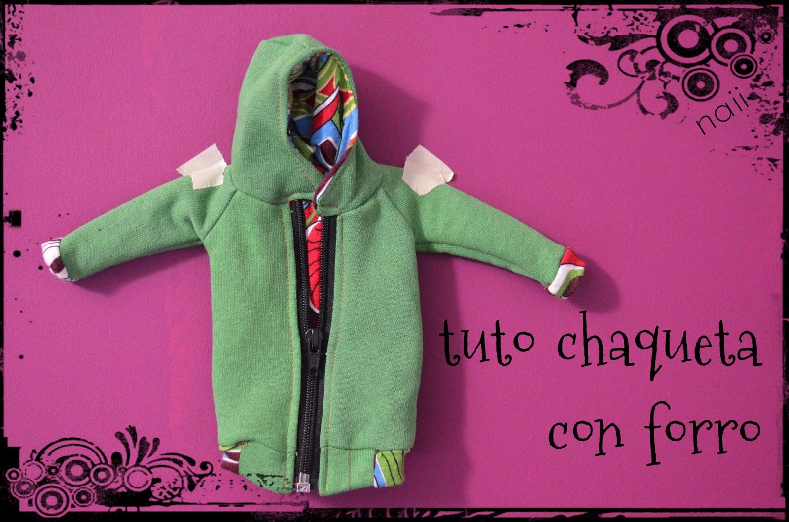 Tutorial chaqueta con forro II