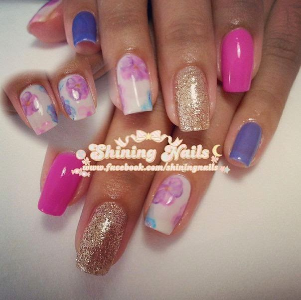shiningnails-watercolor-flowers-nailart