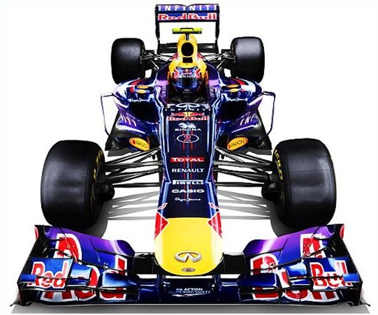 Automóvil F1 Red Bull RB29 RS 27 2013
