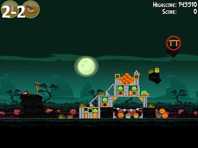 Angry Birds Seasons: Ham'o'ween - Golden Eggs - 2-2