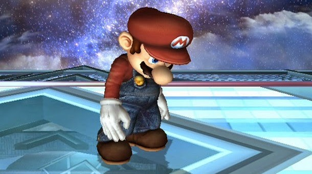 frustrated mario