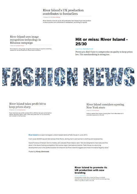 swot analysis for river island Swot analysis: booths sale from chelsea girl to river island: retail week is the most trusted source of business intelligence for the retail industry.
