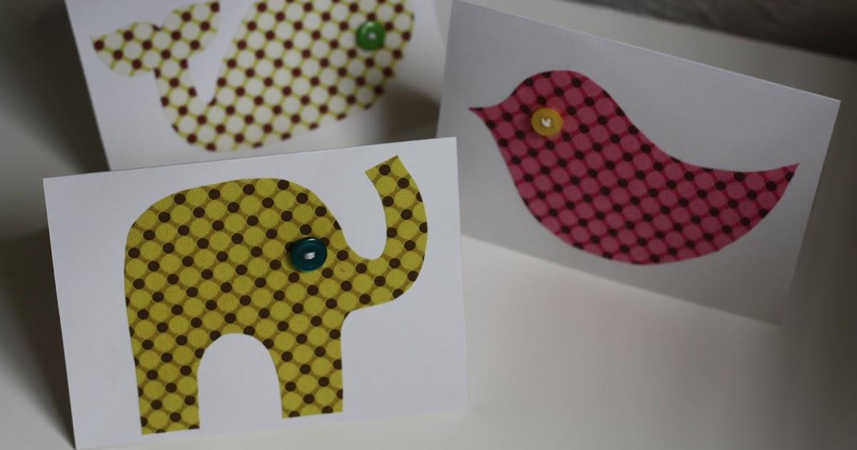 The Crunchy Mamacita: Fabric card tutorial