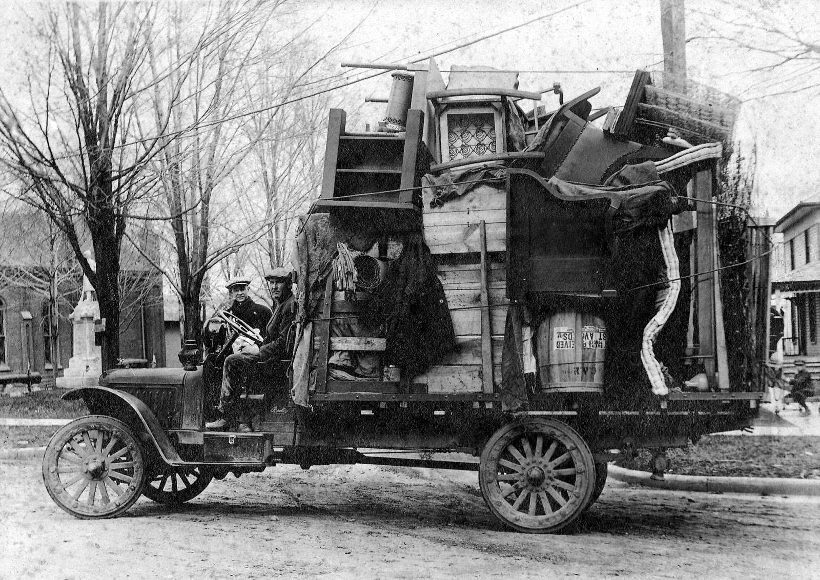 Old Union City Postcards And Pictures Moving Day In
