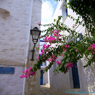 Ano Syros Village, Greece, A Mum in London
