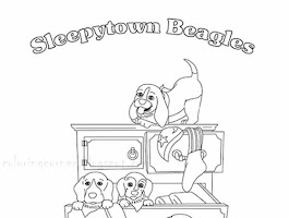Printable Coloring Pages Of Cute Puppies