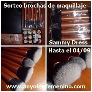 04/09 Sorteo Set de 5 Brochas de Maquillaje
