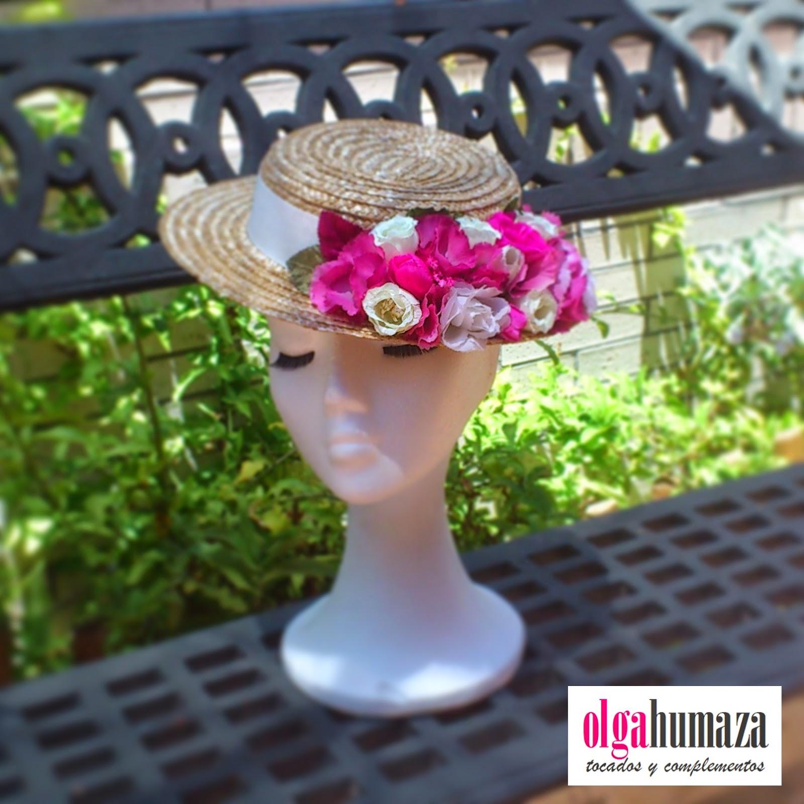http://olgahumaza.blogspot.com.es/2014/07/b48-tocado-sombrero-mini-canotier-con.html