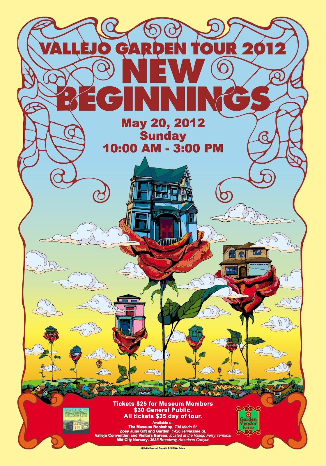 Vallejo Garden Tour 2017 New Beginnings