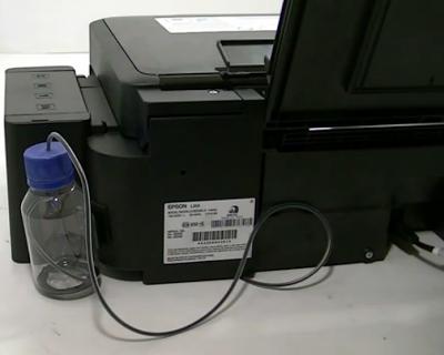 epson L355 printer ink drain