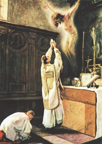 Miracle de la Messe en Latin et les bienfaits du Latin Consecration-Eucharistique