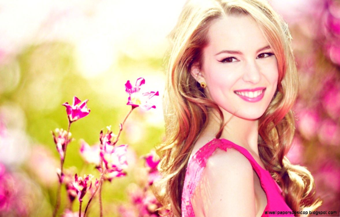 wallpapers for phone 5 — pink flowers bridgit mendler american