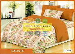 Sprei Motif Bunga Calista Cla334