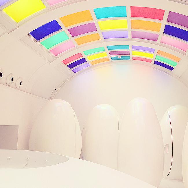 sketch london, toilet eggs, restaurant design
