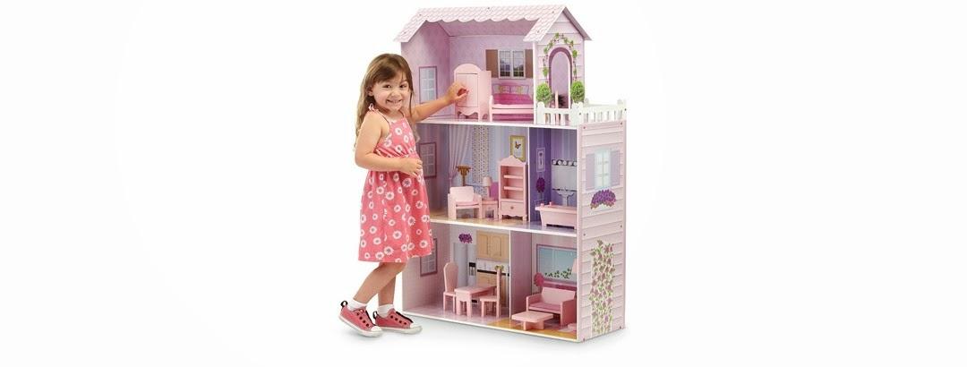 Dollhouse Photography Calendar : Teamson wooden dollhouse only