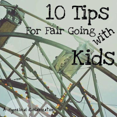 tips for taking kids to the fair