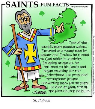 Happy Feast of St. Patrick!