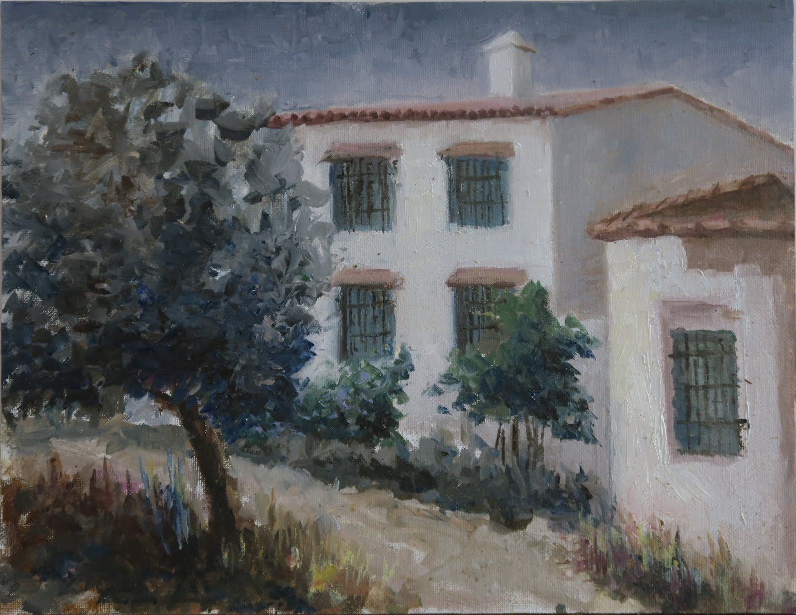 Cortijo; Almogía, Málaga (35x27)