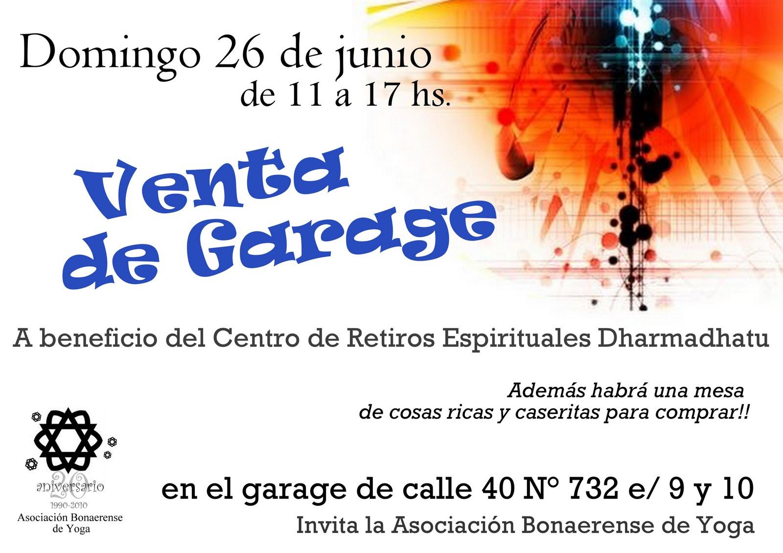 Asociaci n bonaerense de yoga junio venta de garage - Vender garaje ...