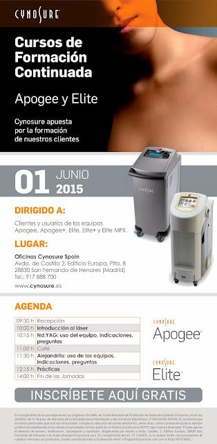 Laser-Apogee-Elite-curso-formacion-2015-06-01-Cynosure-Spain