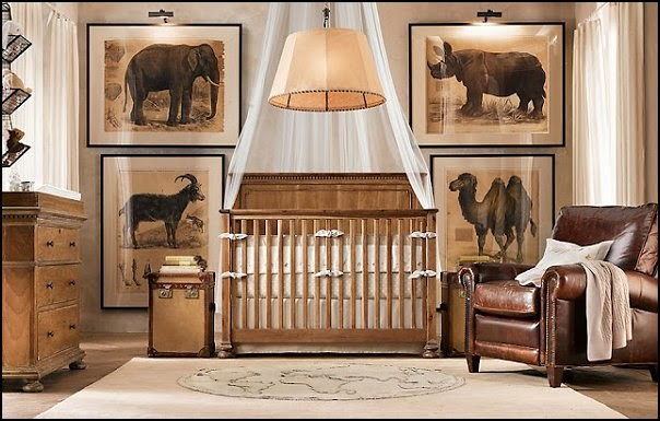 Whose nursery is that page 163 for African bedroom ideas