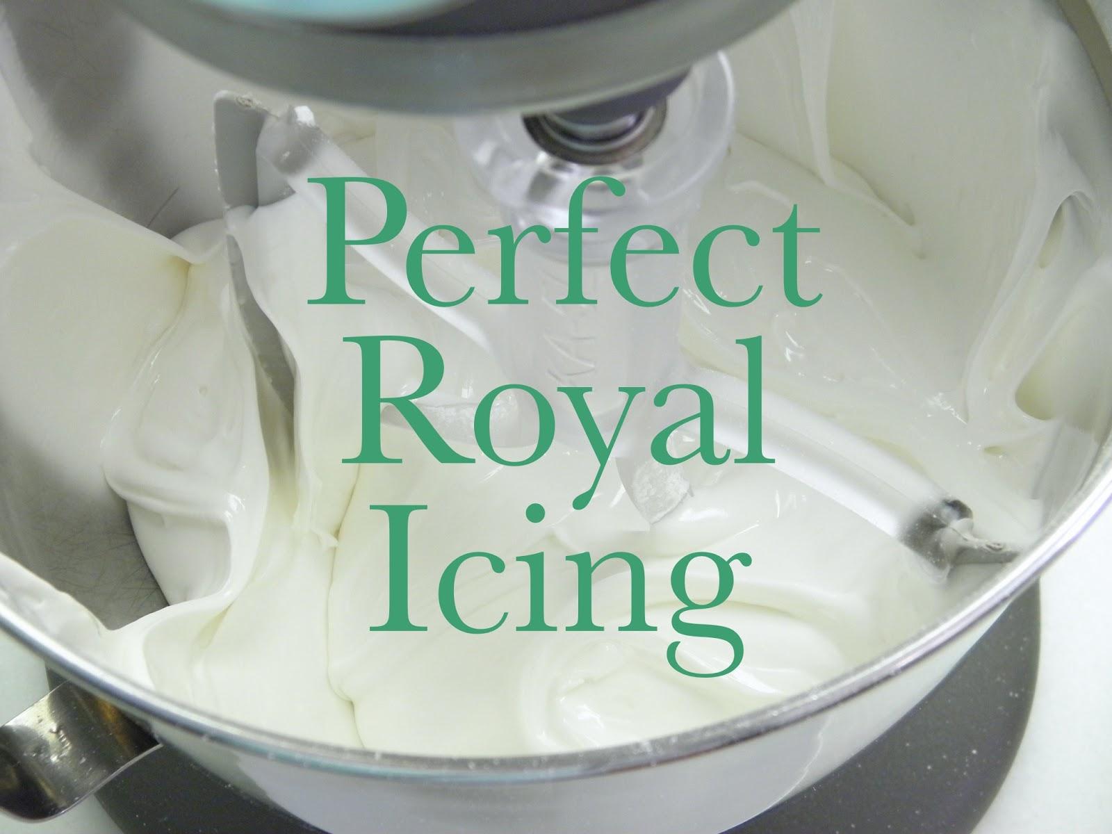 Perfect Royal Icing