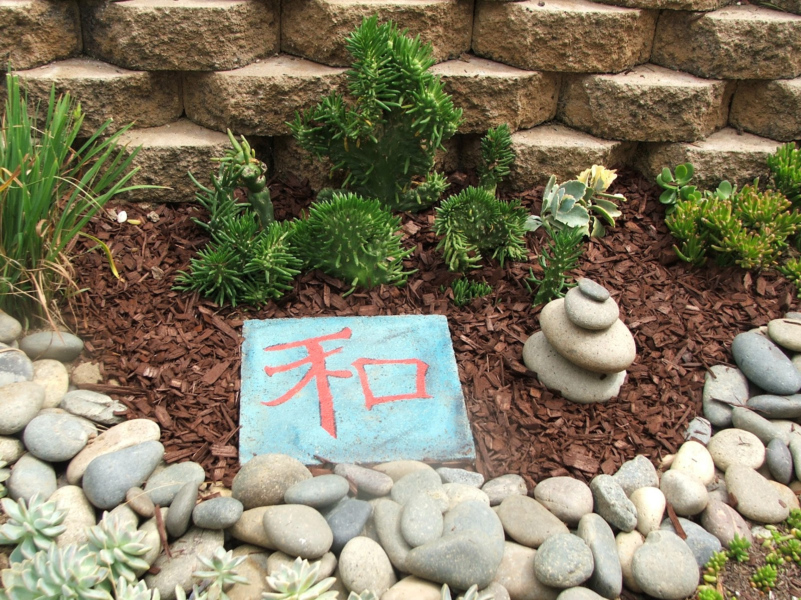 Garden and bliss rock stacking - Garden stone decorations ...