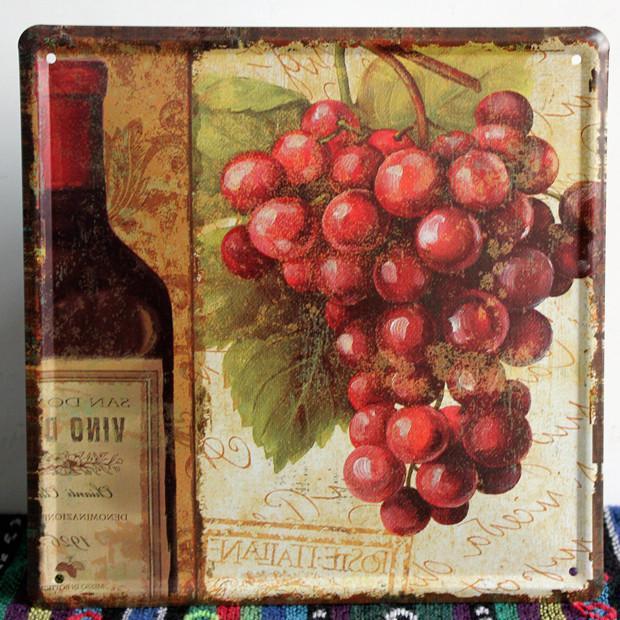 Vintage Wine Ad