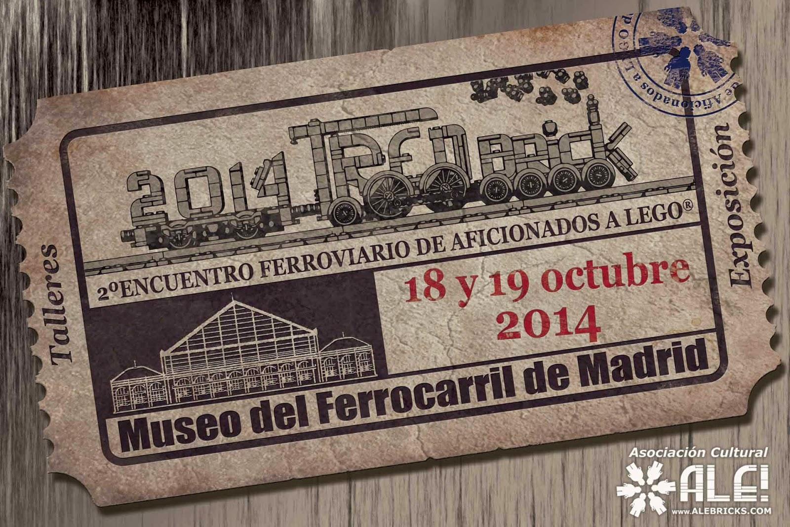 Mi mamá me mola: #PlanMolón: Trenes + LEGO= TRENBrick en Madrid