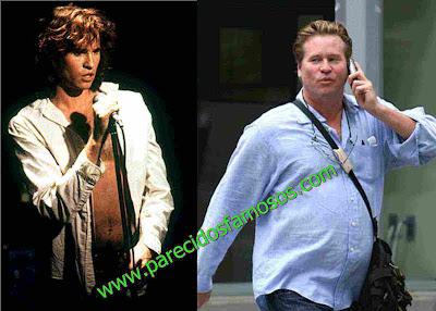 Val kilmer antes y después