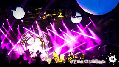 Flogging Molly en el A38 de Sziget Festival 2013
