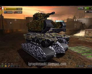 Демонстрация игры танки онлайн 2 0