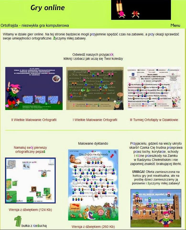 http://www.ortofrajda.pl/gry_on_line.htm