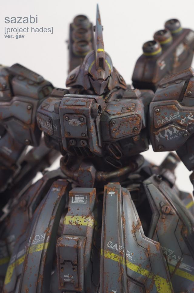custom MG Sazabi verGAV photo