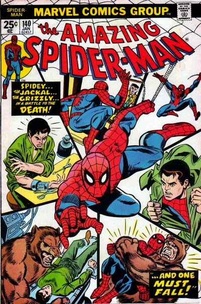 Amazing Spider-Man #140, the Grizzly