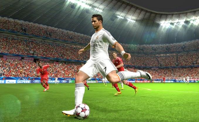 Cara Melakukan Tendanga Bagi Tengah/Kick Off Langsung Goal PES 2013/2015