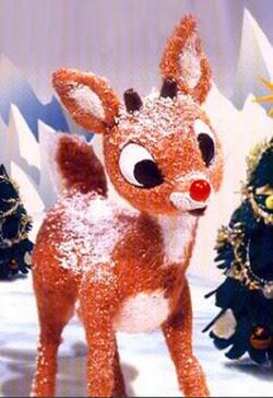 Santa's Reindeer Rudolf coloring.filminspector.com