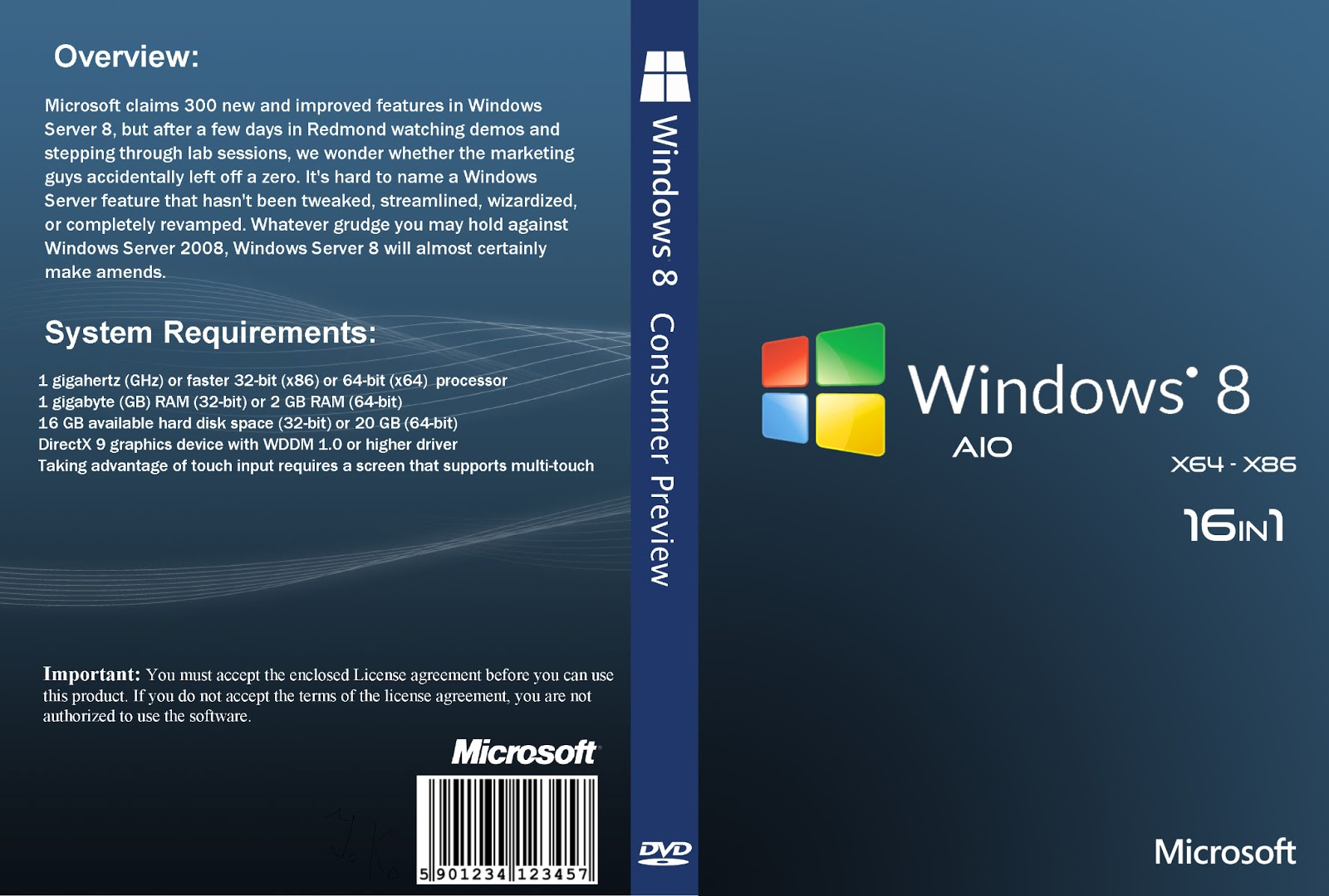 Windows 8 1 pro windows 10 x86x64 bit - Windows 8 Professional Final Retail X86 X64 All In One
