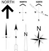Architectural North Arrow4