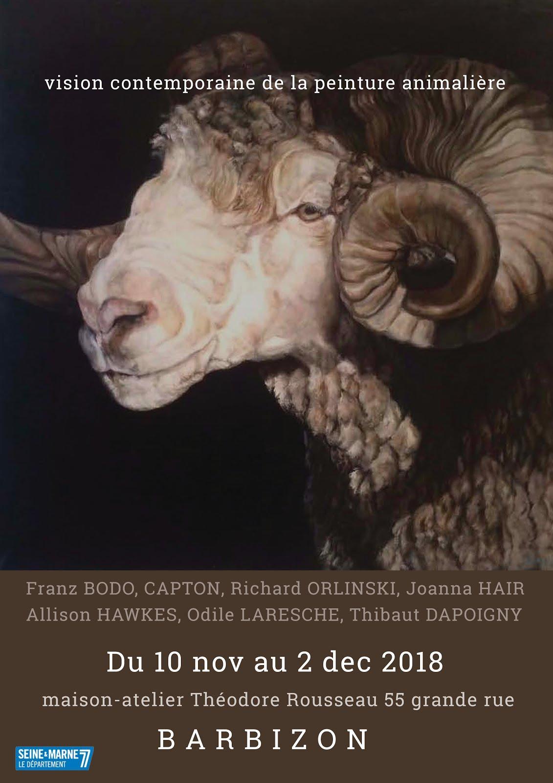 BARBIZON : CAPTON AU MUSÉE DES PEINTRES DE BARBIZON - MAISON-ATELIER THÉODORE ROUSSEAU