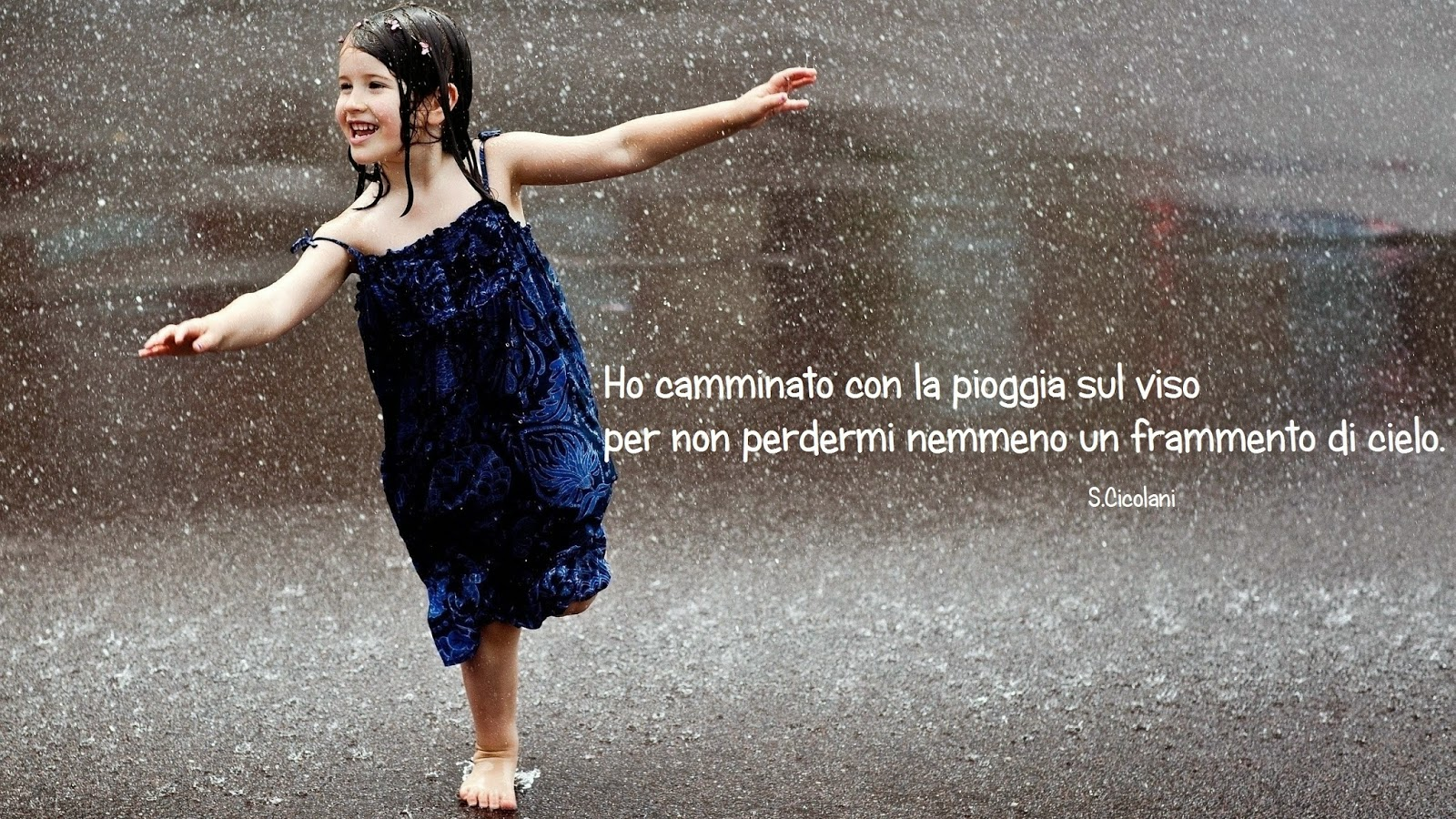 Famoso Scrivo la vita che respiro: Ho camminato con la pioggia sul viso DM28